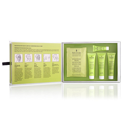 Sanctuary - Brightening Facial In a Box Gift Set