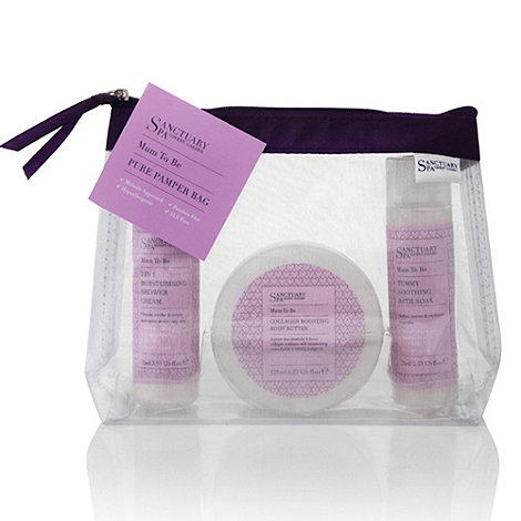 Sanctuary - Mum to Be Pure Pamper Bag Gift Set