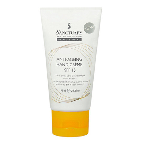 Sanctuary - SPF 15 anti ageing hand cream 75ml