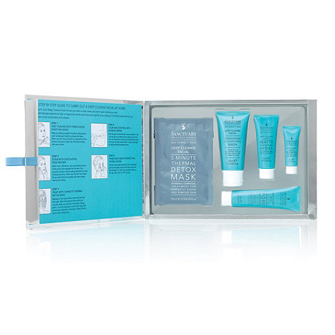 Sanctuary - +Deep Cleanse Facial+ in a box gift set