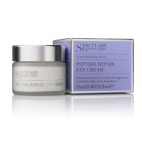 Sanctuary - +Active Reverse Facial+ peptide repair eye cream 15ml