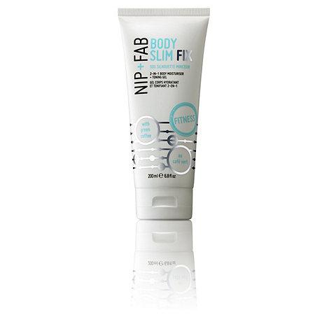 Nip+Fab - +Body Slim Fix+ body moisturiser and toning gel 200ml