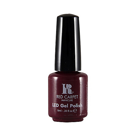 Red Carpet Manicure - 'Plum up the volume' LED gel nail polish 9ml