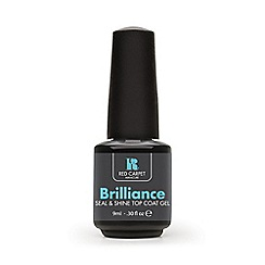 Red Carpet Manicure - Brilliance seal and shine top coat gel 9ml