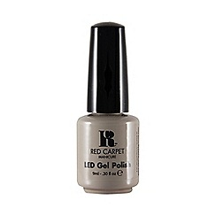 Red Carpet Manicure - 'Lighter shade of grey' LED gel nail polish