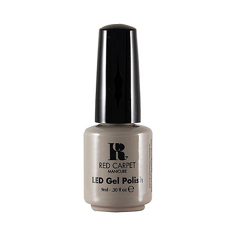 Red Carpet Manicure - Lighter shade of grey LED gel nail polish 9ml