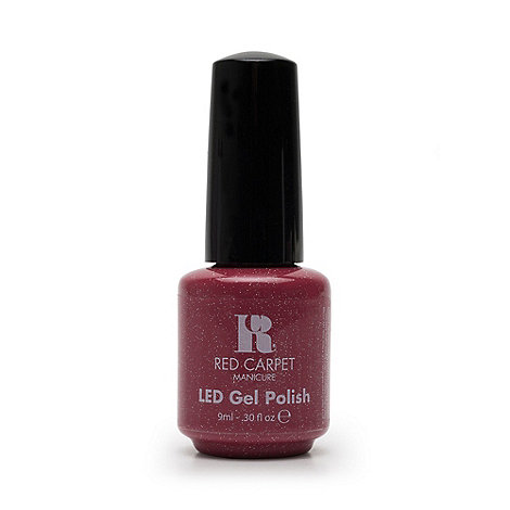 Red Carpet Manicure - 'Camara flash' LED gel nail polish