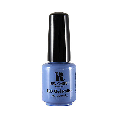 Red Carpet Manicure - Love those baby blues+ LED gel nail polish 9ml
