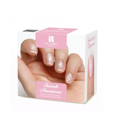 Red carpet manicure french polish