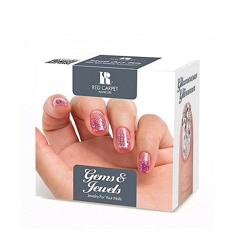 Red Carpet Manicure - Gems and Jewels Kit Gift Set