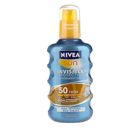 Nivea - SPF 50 invisible protection spray 200ml