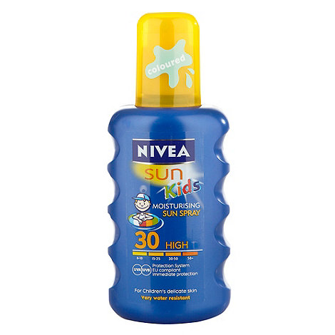 Nivea - +Sun Kids+ SPF 30 moisturising sun spray 200ml