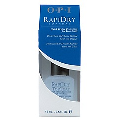 OPI - 'Rapidry' top coat 15ml