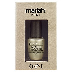 OPI - Pure 18K White Gold & Silver Top Coat 15ml
