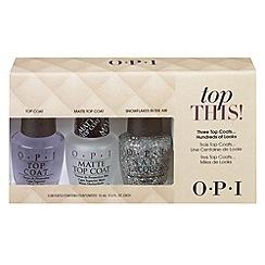 OPI - Top This! Top Coat Kit