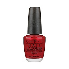 OPI - An Affair In Red Square Nail Lacquer