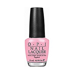 OPI - I think in pink nail polish 15ml