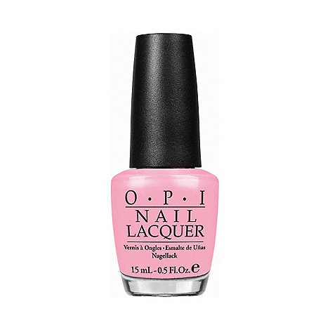 OPI - I Think In Pink Nail Lacquer 15ml