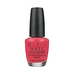 OPI - Charged Up Cherry Nail Lacquer 15ml
