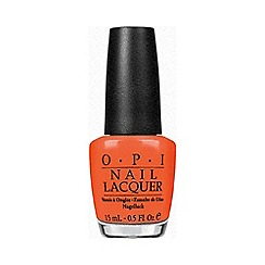 OPI - A Good Man-darin is Hard To Find Nail Lacquer 15ml