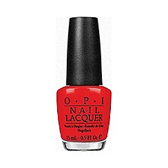 OPI - Red my fortune cookie nail polish 15ml