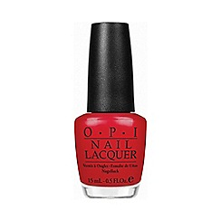 OPI - Colour so hot it berns nail polish 15ml