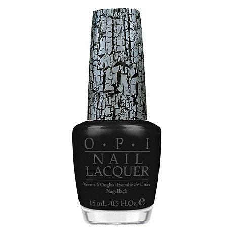 OPI - Black Shatter Coat Nail Lacquer 15ml