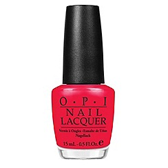 OPI - Red Lights Ahead...Where? Nail Lacquer 15ml