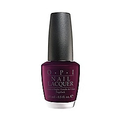 OPI - Black cherry chutney nail polish 15ml