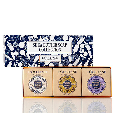 L+Occitane en Provence - Shea Butter Soap Collection Gift Set
