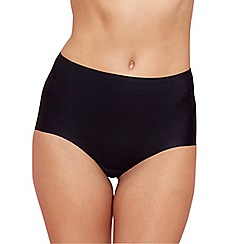 Debenhams - Black invisible full brief knickers