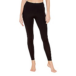 The Collection - Black thermal leggings