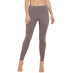 The Collection - Grey thermal leggings