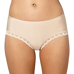 Debenhams - Beige invisible short knickers