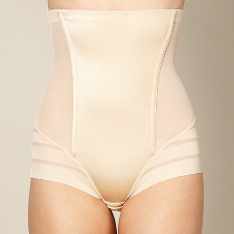 Maidenform - Natural sleek stripes high waist brief