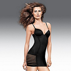 Maidenform - Black sleek stripes foam cup full slip