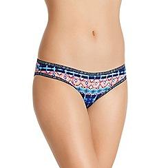 Bonds - Blue shibori print bikini knickers