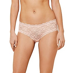 The Collection - Light pink lace shorts