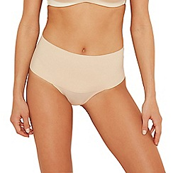 Spanx - Beige 'Undie-Tectable' seamless medium control knickers
