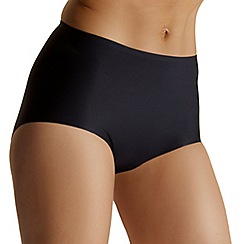 Debenhams - Black invisible full briefs