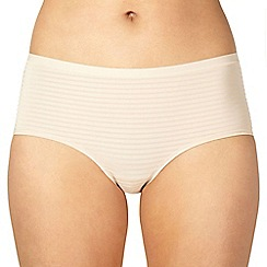 Debenhams - Natural shadow striped shorts
