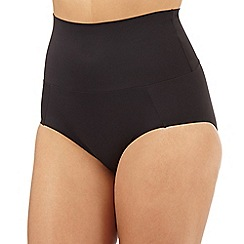 Debenhams - Black firm control bandeau shaping briefs