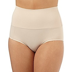 Debenhams - Natural firm control bandeau shaping briefs