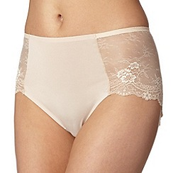 Debenhams - Natural full brief knickers