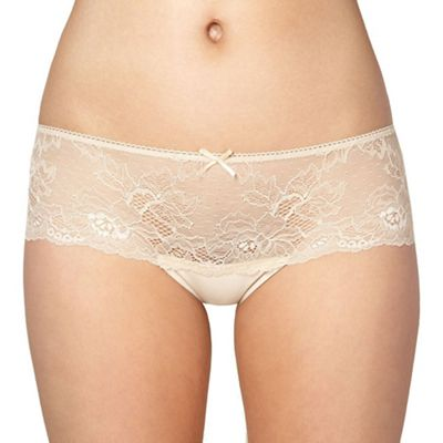 Natural lace front shorts