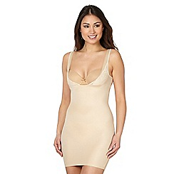 Maidenform - Natural firm control dress slip