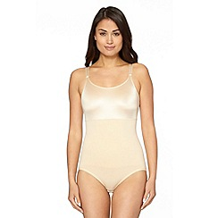 Maidenform - Beige 'Flexees' slim waister body briefer