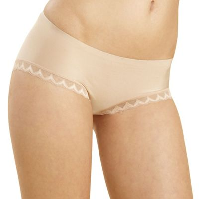 Natural lace trim Invisible shorts