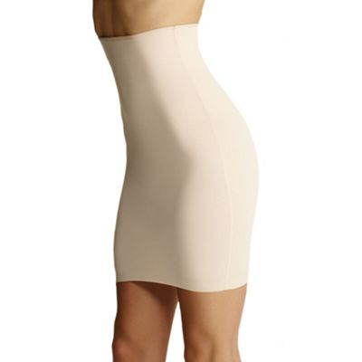 Natural Invisible shapewear half slip