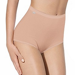 Playtex - Nude 'Cherish' seam free full briefs